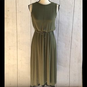 The Limited Olive Green Maxi Dress